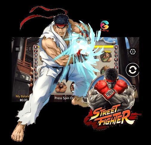 fg slot street fighter