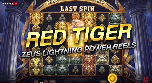RED TIGER รีวิวZeus Lightning Power Reels